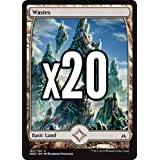 x20 Oath of the Gatewatch Full Art Land Wastes x10 of each OATG MTG