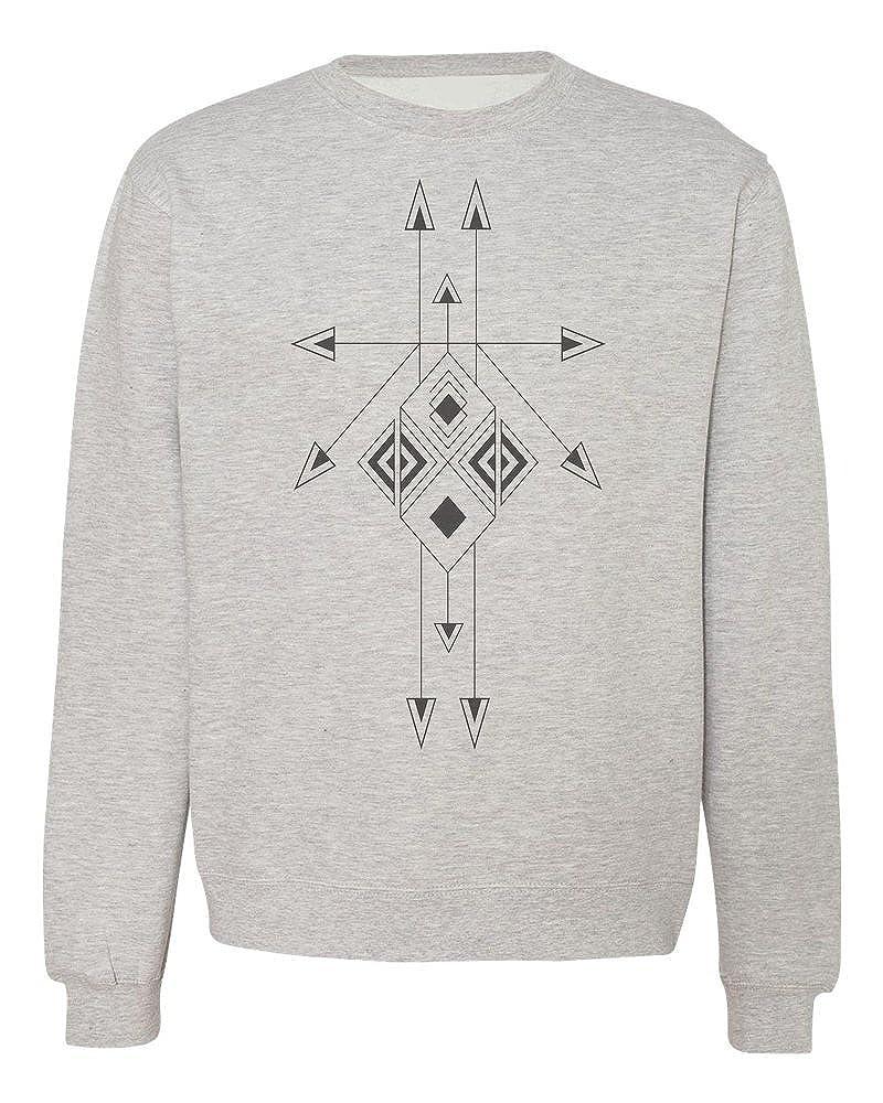 Beautiful Arrow Ornament Mens Womens Unisex Sweatshirt