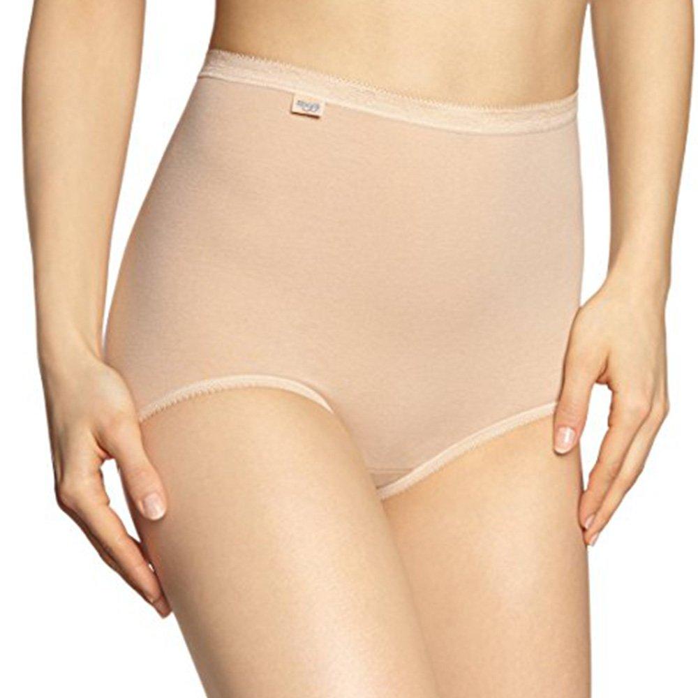 Sloggi 4er Pack Damen Maxi-Slip - - - Farbe Skin (Hautfarben), Weiß - Größe 40 bis 50 - Serie Basic+ - Elastischer Größenslip - Damenslip 95 5 Baumwollmischung B071S6ZVM6 Panties & Hipsters Angemessener Preis 96b183