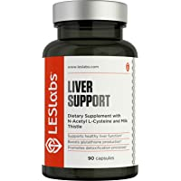 LES Labs Liver Support, Liver Cleanse Supplement for Healthy Liver Function, Detox...