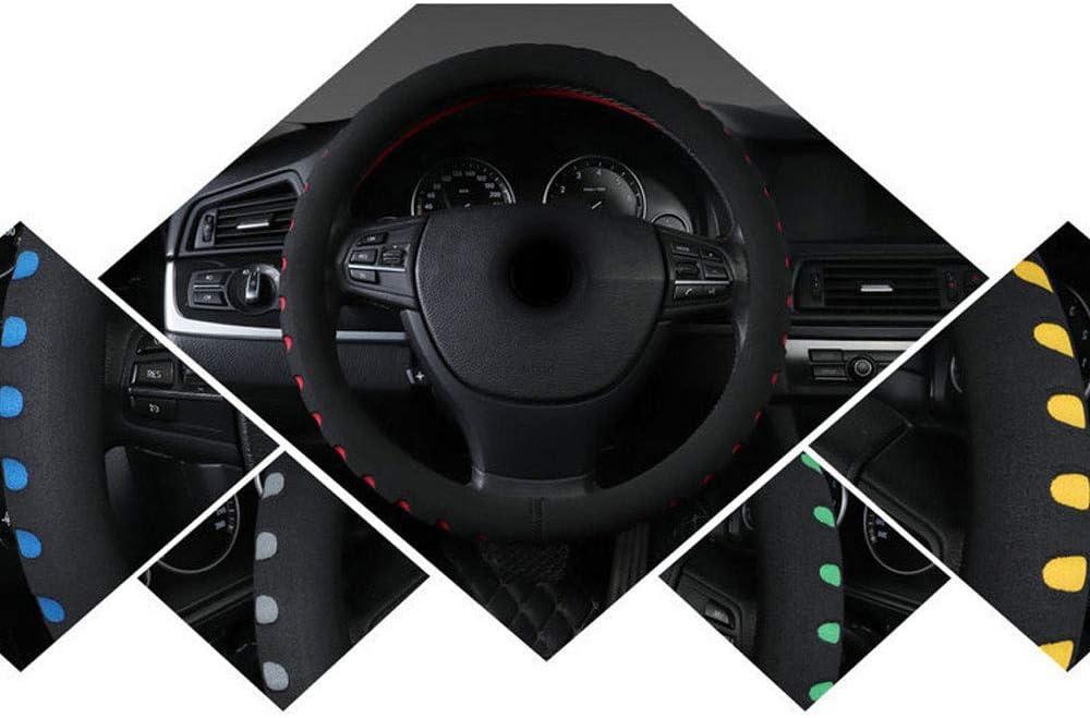 Auto-Dekor-Auto-Dekoration Geschenk Fit f/ür Auto-Lenkrad mit 38 cm Soft /& Breath Eva-Schaum-Abdeckung Anti-Rutsch-Halter-Schutz Automobil-Lenkrad Coveruniversal 15 Durchmesser