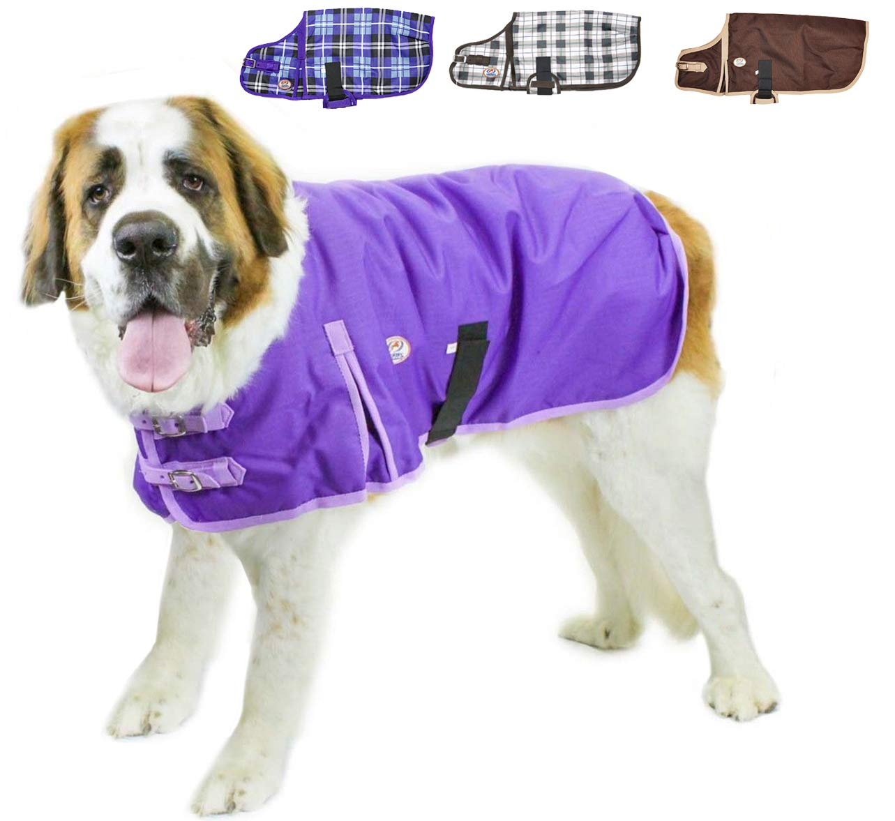 Derby Originals Horse Tough 1200D Waterproof Winter Dog Coat with 2 Year Warranty Multiple Styles /& Sizes Designed with Heavy Duty Ripstop Nylon /& No Rub Breathable Inner Lining Insulated