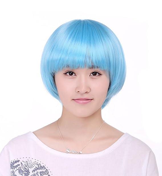 Bolsa de color peluca multicolor opcional Studio personalizado imagen peluca - - M