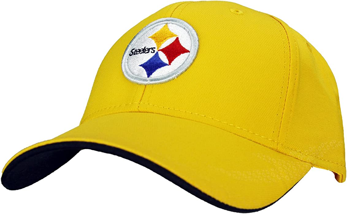 Pittsburgh Steelers NFL Youth Size (8-20) Performance Flex Cap One Size Fits 4b6f5a063