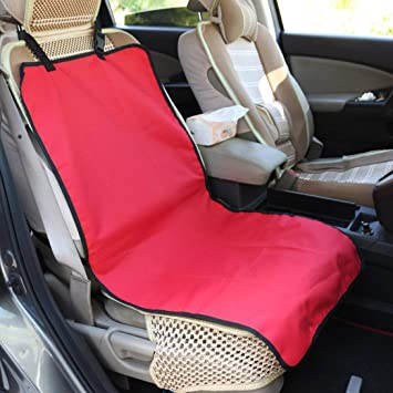 Swiftswan Dog Seat Cover with Hammock for Cars,Full Protector for your Pet Rear Back Seat Waterproof Non-Slip Washable