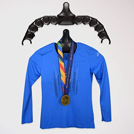 fcb8f5f30 Amazon.com   Gone For a Run Race Shirt and Medal Display for Runners ...