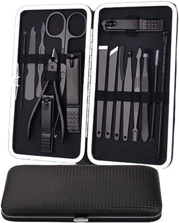 NNNQO Pack Manicure Pedicure Care Tool Kit,Cortador para El Cuidado De Las Uñas De Los Pies Set De Manicura Pr Set De Manicura Cortaúñas para Hombres Y Mujeres Uña: Amazon.es: Hogar