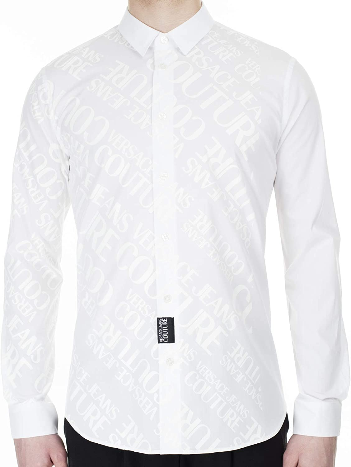Versace Jeans Couture Chemise Homme Blanche