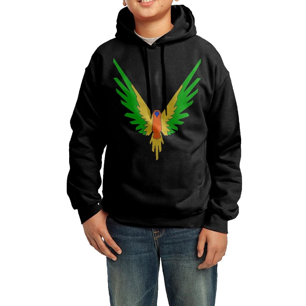 Parrot Maverick Logo Youths Fashion Personality Casual Unisex Hooded Sweatshirt