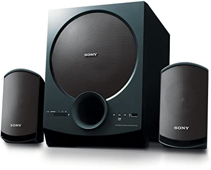 Sony Sa D20 C E12 2 1 Channel Multimedia Speaker System With