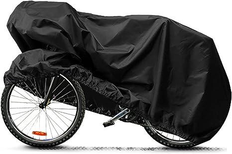 Funda Bicicleta Exterior, Aufeel Funda de bicicleta Cubierta ...