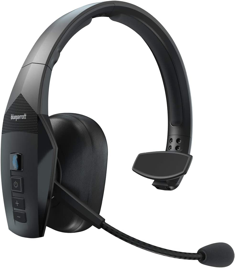BlueParrott B550-XT Voice-Controlled Bluetooth Headset – Industry Leading Sound with Long Wireless Range, Extreme Comfort and Up to 24 Hours of Talk Time