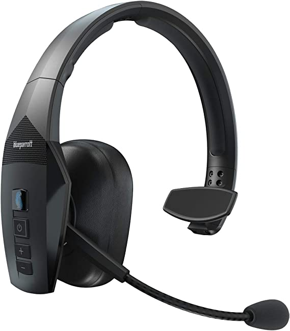 Amazon Com Blueparrott B550 Xt Voice Controlled Bluetooth Headset Industry Leading Sound With Long Wireless Range Extreme Comfort And Up To 24 Hours Of Talk Time Computers Accessories