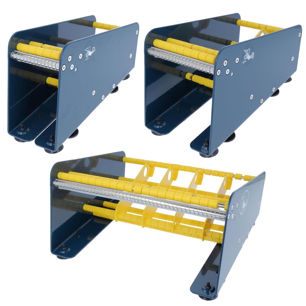 Te de Office etiquetas dispensador Label dispensador de acero mesa dispensador para etiquetas adhesivas mesa dispositivo manual 75, 113 o 265 mm, ...