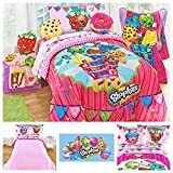 Shopkins Complete Bedding Comforter Set with Body Pillow - Twin