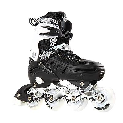 Inline Skates Adjustable, Adult Roller Skates, Full Set of Inline Skates, Adult Beginners for Men and Women, Light Up Wheel Fun Flashing : Sports & Outdoors