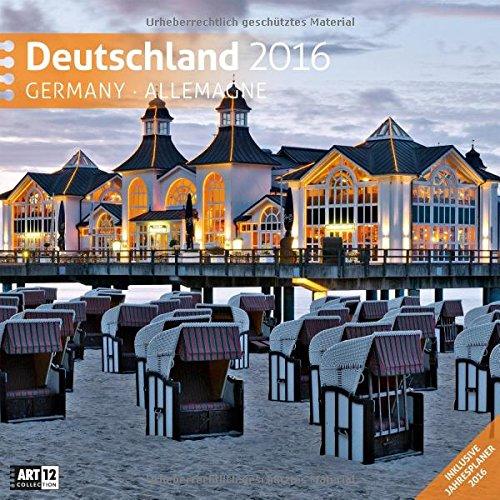 Deutschland 30 x 30 cm 2016