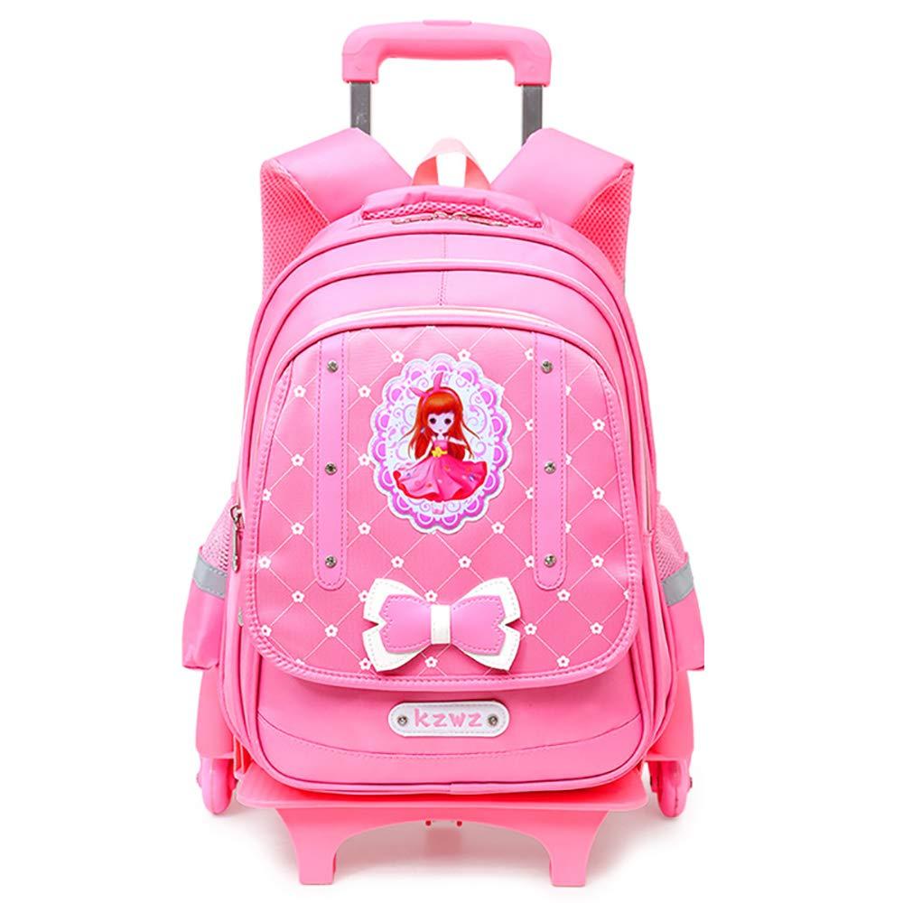 0c451877e3 Zaino zainetto zainetto zainetto per ragazza Leva a ruote Tirante 7-12 anni  impermeabile leggero scuola elementare zaino da 2 anni scuola elementare  scuola ...
