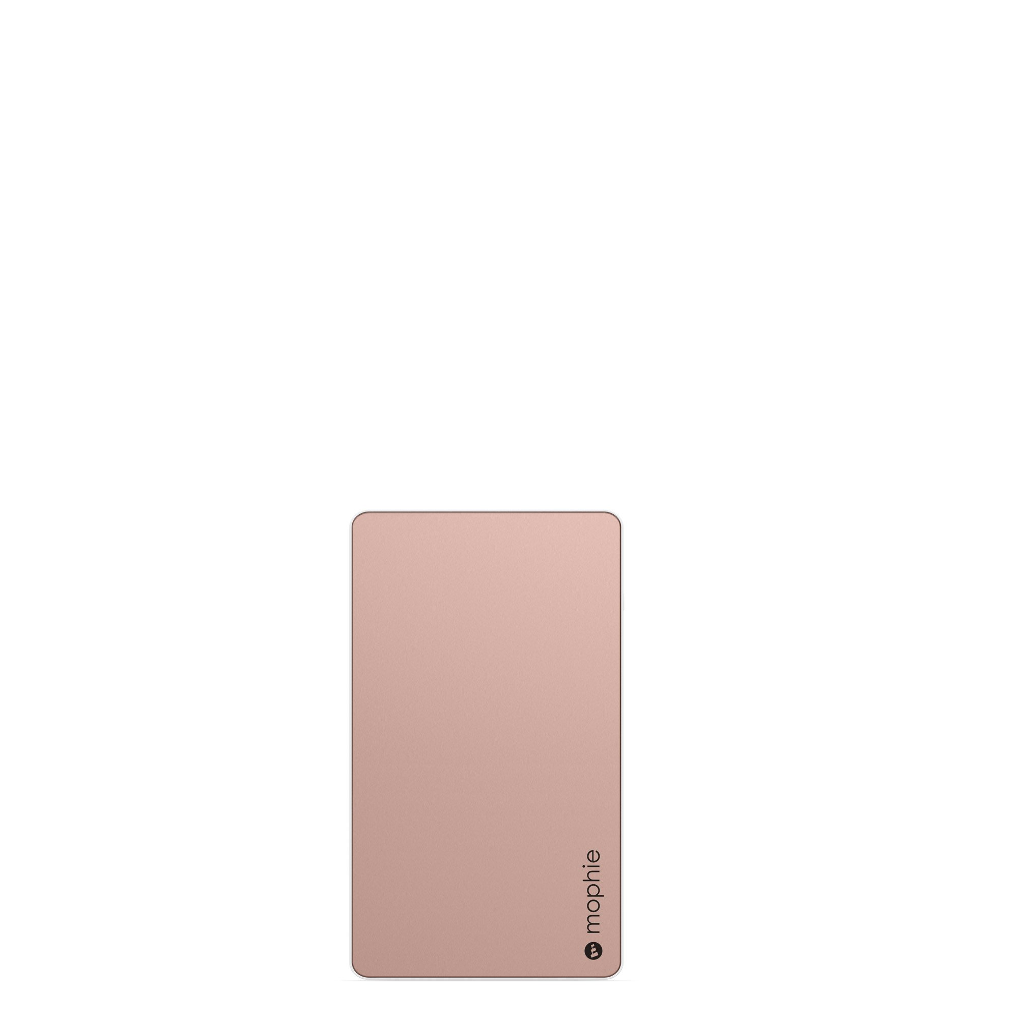 mophie powerstation External Battery for Universal Smartphones and Tablets (6,000mAh) - Rose Gold