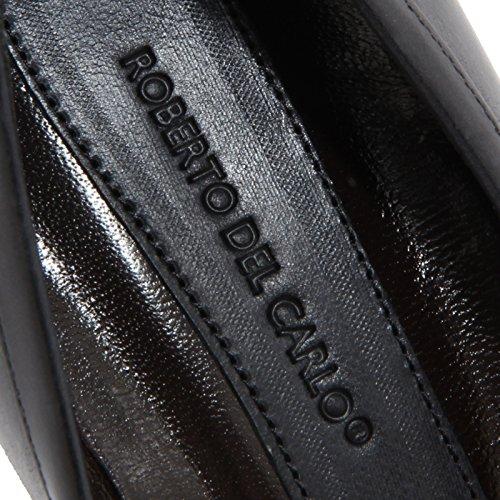 scuro donna women décolleté 46750 ROBERTO Grigio CARLO shoes DEL scarpa grigio OwEqwf