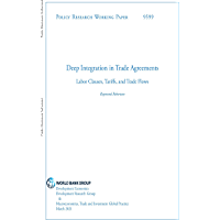 Deep Integration in Trade Agreements : Labor Clauses, Tariffs, and Trade Flows
