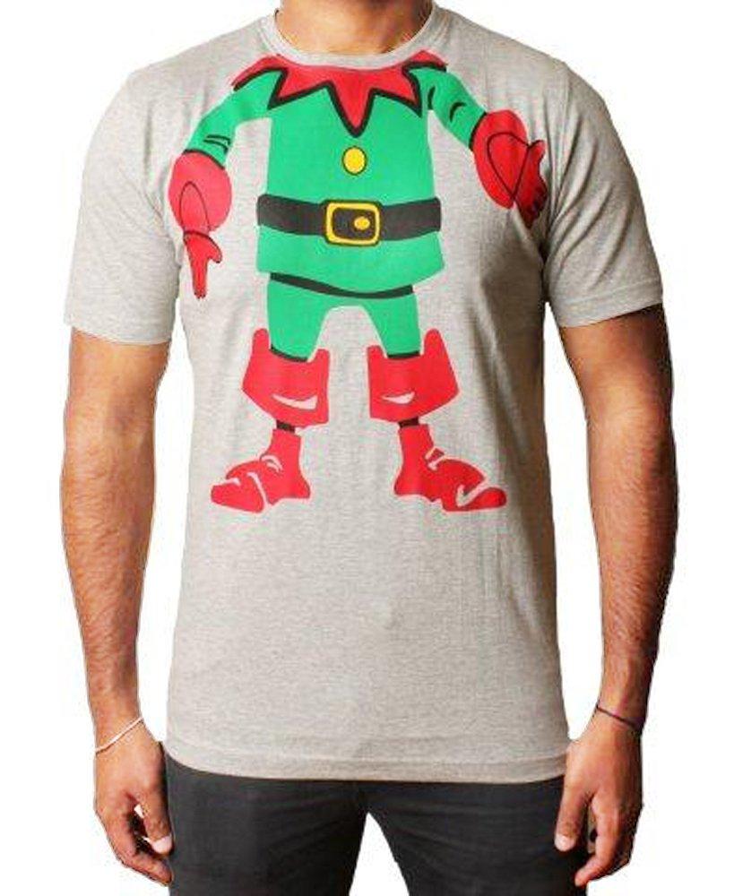 hohoho Mens Boys Unisex Christmas Xmas T-Shirts Novelty Santa Reindeer Elf Emoji | Amazon.com
