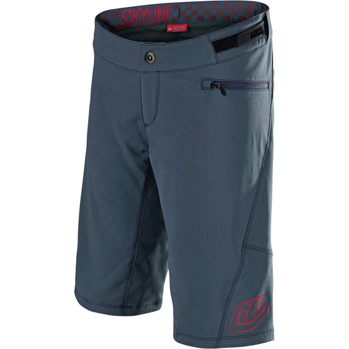 Troy Lee Designs Girls Trail-Short Shell Skyline Corsair//Coral