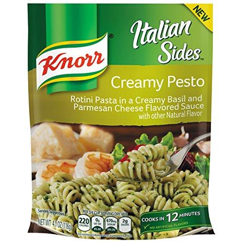 Knorr Italian Sides Pasta Side Dish, Creamy Pesto, 4.1 oz