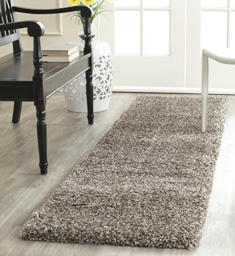 Safavieh Milan Shag Collection SG180-8080 Grey Area Rug (2' x 4') (Luxurious Home Decor)