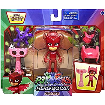 Disney Junior PJ Masks Hero Boost Owlette Action Figure