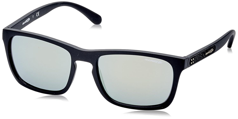 Arnette Burnside Gafas de sol, Matte Black, 56 para Hombre