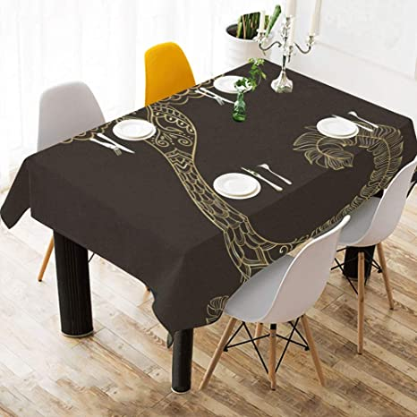 Amazon Com Best Table Cloth Phoenix Cool Design Cotton Print Table Linens Cloth Cover Tablecloth For Kitchen Dining Room Decor 60x84 Inch Beauty Table Cloth Home Kitchen