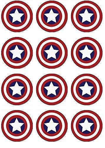 Captain America Cake Topper Amazon