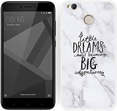SEEYA Funda Silicona de Mármol para Xiaomi Redmi 4X TPU Gel ...