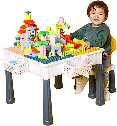 OMNISAFE Kids 6-in-1 Multi Activity Table Set
