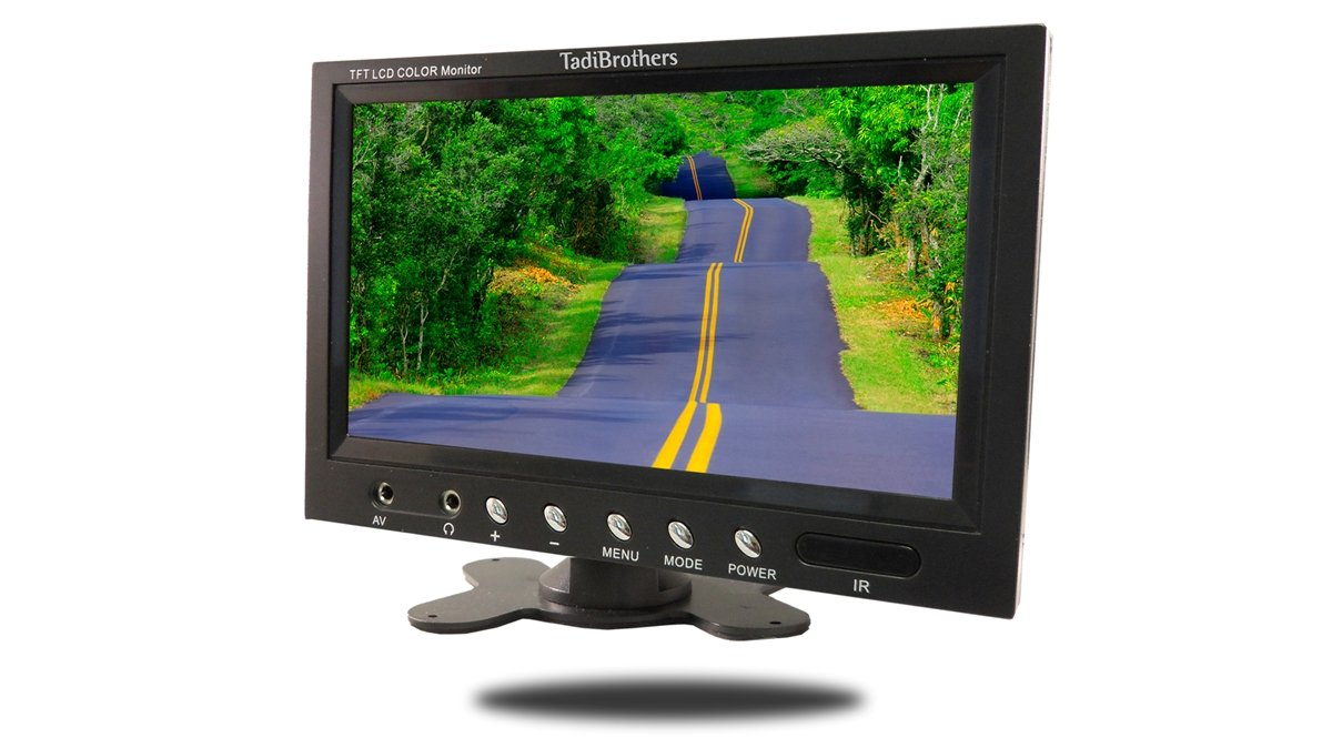 61IbuQEG3BL._SL1200_ amazon com tadibrothers 9 inch monitor with wireless ccd mounted  at mifinder.co
