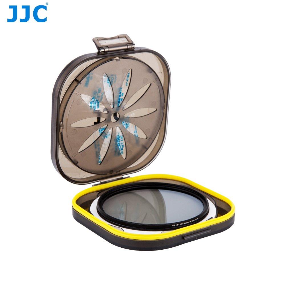 JJC フィルターケース フィルター保護プロテック 防湿 衝撃抵抗 58mm~86mmフィルター   B0749DVDH7