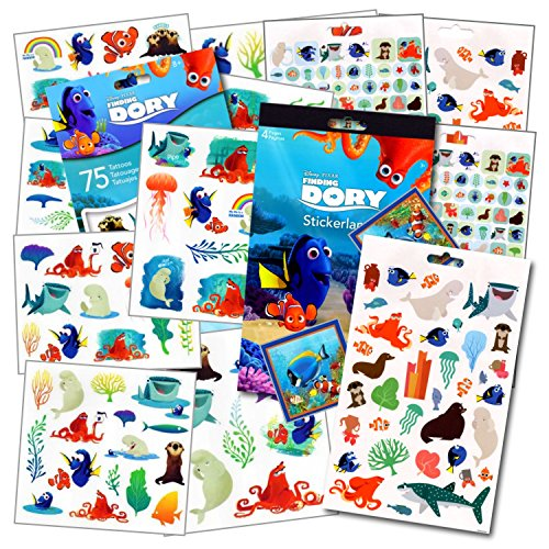 Disney Finding Stickers Tattoos Studios