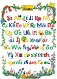 Jolly Phonics Letter Sound Poster: in Precursive Letters (BE)