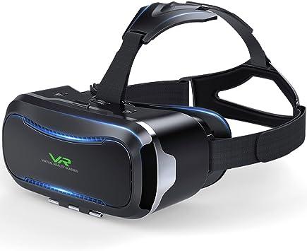 KAMLE 3D VR Gafas de realidad virtual para juegos y películas ...