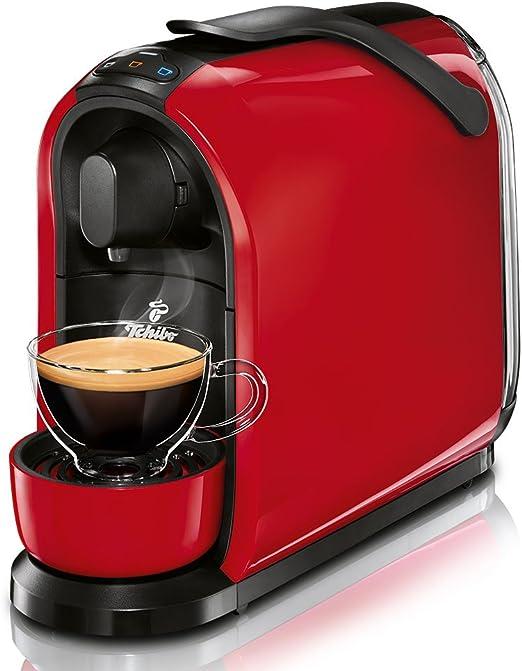Tchibo Cafissimo PURE Independiente Máquina de café en cápsulas Rojo 1 L - Cafetera (Independiente, Máquina de café en cápsulas, 1 L, Cápsula de café, 1250 W, Rojo): Amazon.es: Hogar