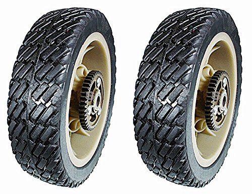 (Stens 205-670 Pack of 2 Plastic Drive Wheels for Lawn-Boy and Toro)