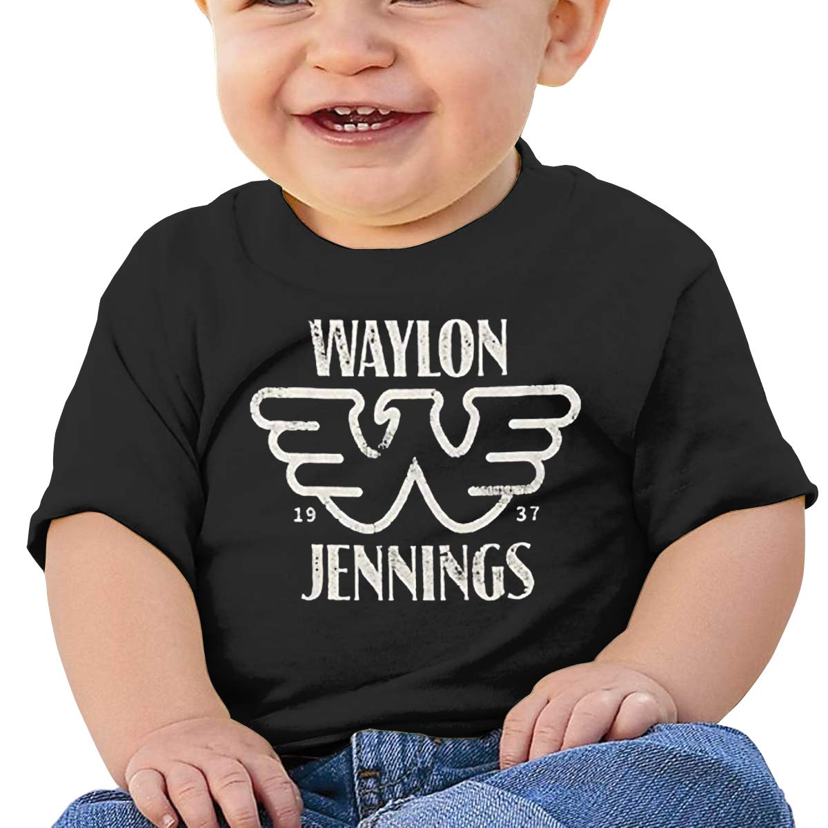 BestBestStore Baby Shirts Waylon Jennings Party Tank Top for Boys