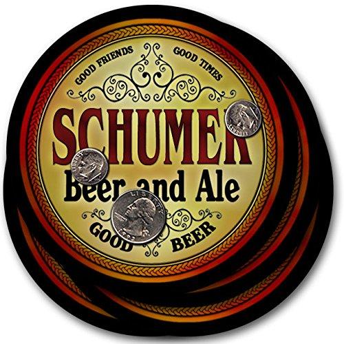 Schumerビール& Ale – 4パックドリンクコースター   B003QXV5JS