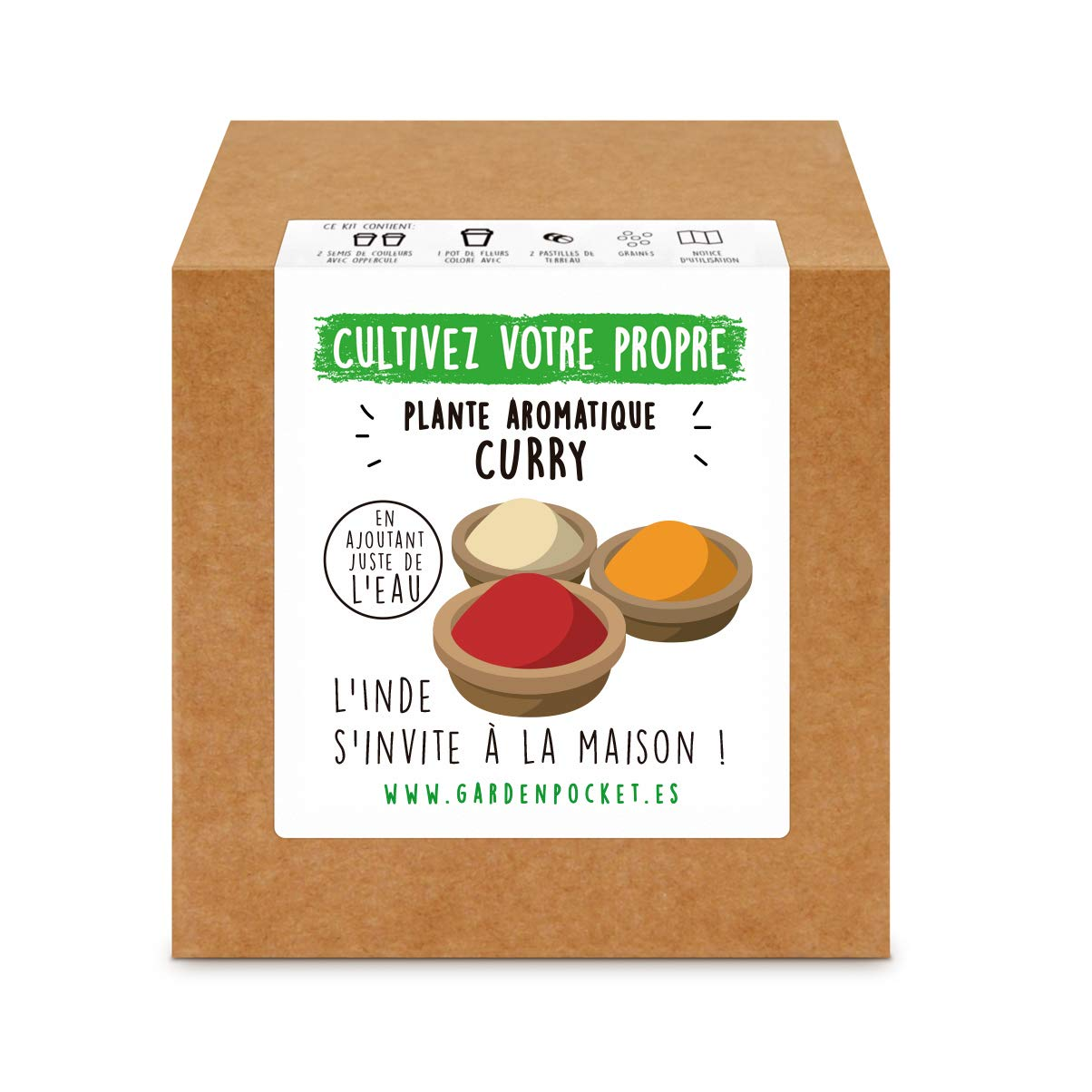 Garden Pocket - Kit de Culture de PLANTE AROMATIQUE CURRY