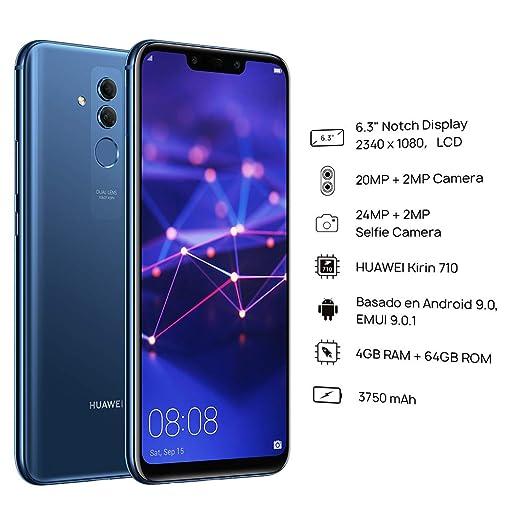 Amazon.com: Huawei Mate 20 Lite SNE-LX3 64GB 4GB ...