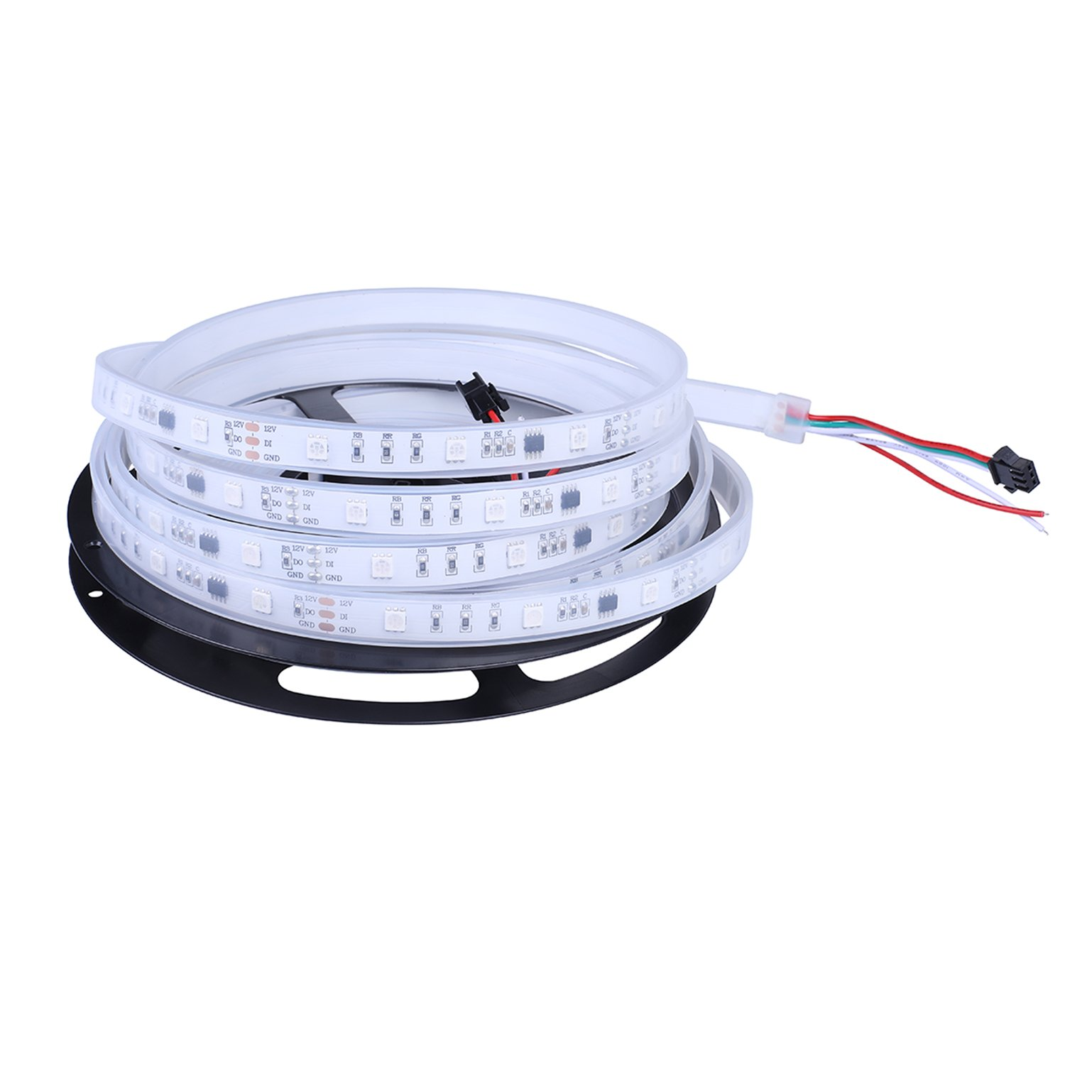 Amazon.com - Dreamcolor 12V DC 5M WS2811 RGB LED Strip Light ...