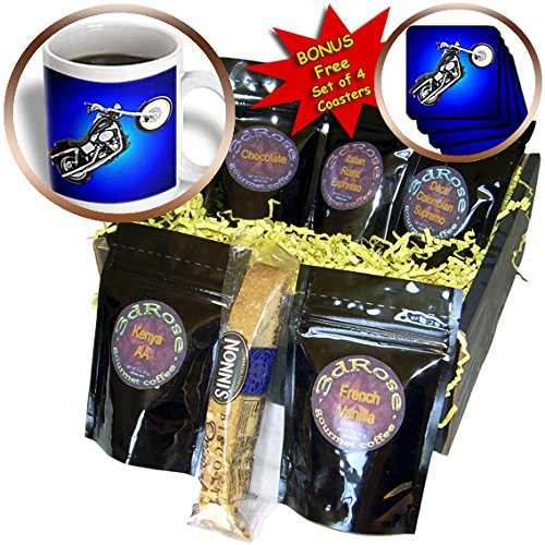 Coffee Gift Basket Picturing FXDWGI Dyna Wide Glide® Motorcycle - Coffee Gift Basket (cgb_3179_1)