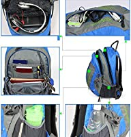 5411100a3971 TOFINE Heavy Duty Hidden Pocket Outdoor Water Proof Travel Backpack ...