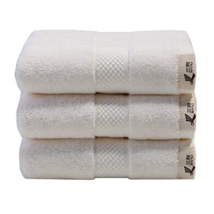 3pcs Hotel de lujo y Spa toalla de baño hogar toallas de mano toalla de cara